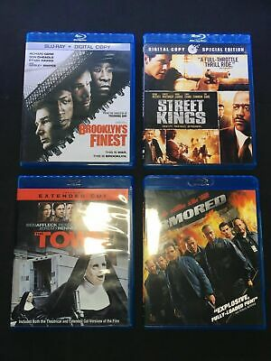 Action Blu-Ray Movies Street Kings, The Town w/ DVD, Brooklyn's Finest, Armored!