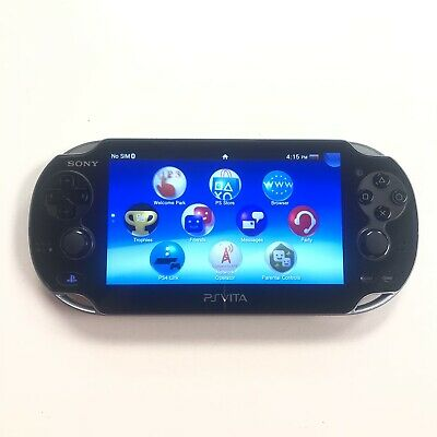Sony PlayStation PS Vita PCH-1101 With Charger & 4GB Memory Card