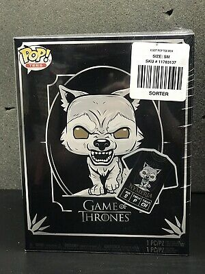 Game of Thrones: Nymeria POP! Figure & T-Shirt (2019) Funko Sealed (Small)