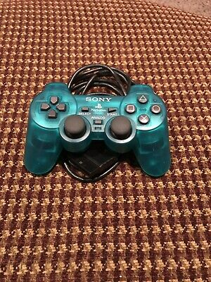 Emerald Green OEM Original PS2 Controller Sony Playstation 2 Dual Shock 2 Wired