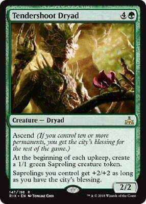 Tendershoot Dryad 147/196 Near Mint MTG Rivals of Ixalan RIX