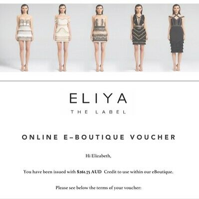 Eliya the Lable Gift Voucher