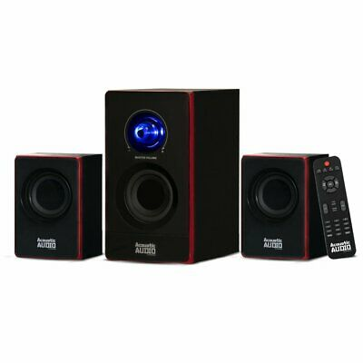 Acoustic Audio by Goldwood 2.1 Bluetooth Speaker System 2.1-Channel Home Theater