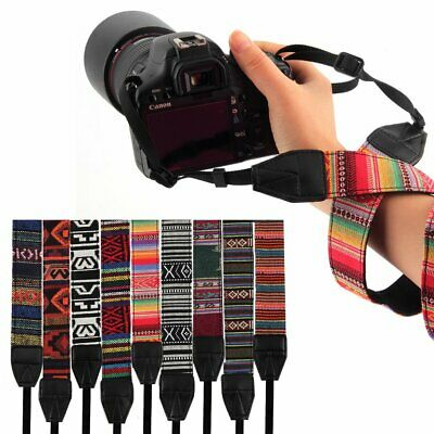 Vintage Camera Shoulder Neck Strap For Nikon Canon Sony Panasonic SLR DSLR JO