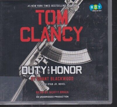 DUTY AND HONOR (TOM CLANCY) by GRANT BLACKWOOD~ UNABRIDGED CD AUDIOBOOK