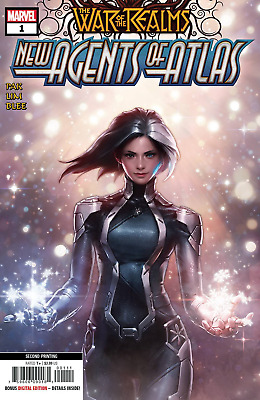 War Of Realms New Agents Of Atlas #1 (Of 4) 2Nd Ptg Variant Lee - ⭐🌟 6/12/19