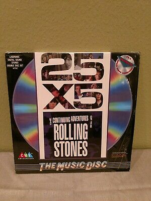 25 X 5 - The Continuing Adventures Of The Rolling Stones on LaserDisc / 2 LD's