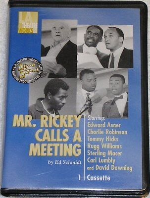 Mr. Rickey Calls A Meeting, LA Theatre Works, Cassette Tape