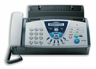 FAXT106  - Brother FAX-T106 A4 Mono Fax