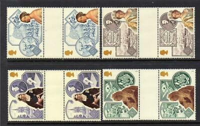 Gb Mnh 1988 Sg1367-1370 150Th Anv Of Queen Victoria's Accession Gutter Pairs