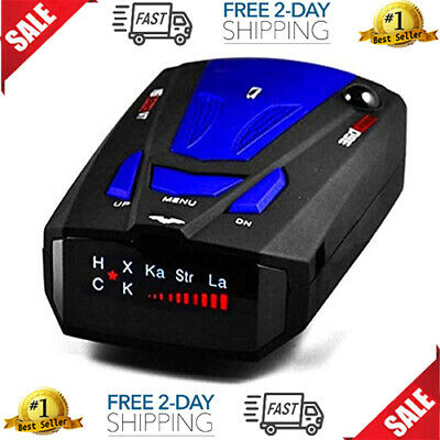 Best Laser Camera Radar Detector Cop Cars Police Scanner Real Kit 360 Degree