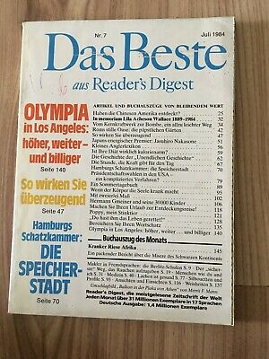 Das Beste aus Readers Digest Juli 1984