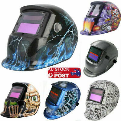 AU NEW ROSSI Solar Auto Darkening Welding Helmet Mask ARC TIG MAG Welder Machine