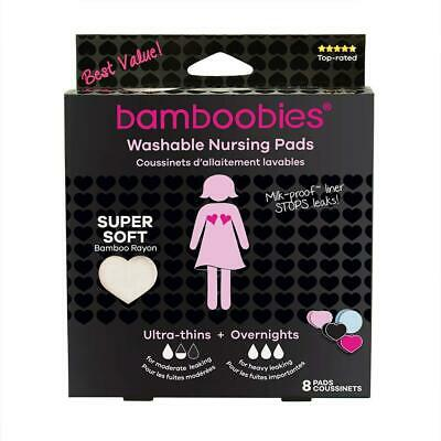 Bamboobies Nursing Pads for Breastfeeding | Reusable Breast | Perfect Baby...