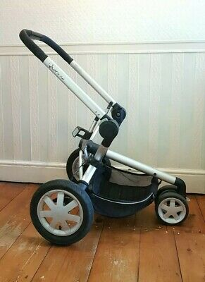 Complete Quinny Buzz/Xtra Chassis Frame Front & Rear Wheels Tyres Basket