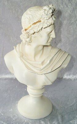 G46 Decorative Antique Bust of a Noble Jüngling, Bust from Polystone