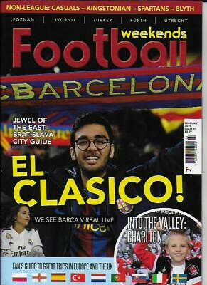 FOOTBALL WEEKENDS - Issue 41 February 2019 (NEW)*Post included to UK/Europe/USA