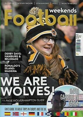 FOOTBALL WEEKENDS - Issue 40 D-January 2019 (NEW)*Post included to UK/Europe/USA