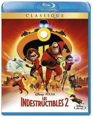 "Blu-ray ""Les Indestructibles 2""  Disney  N  121    NEUF SOUS BLISTER"