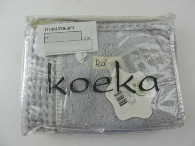 Koeka Changing Mat Cover Wafel Amsterdam Silver Grey 1015 Infant Accessory