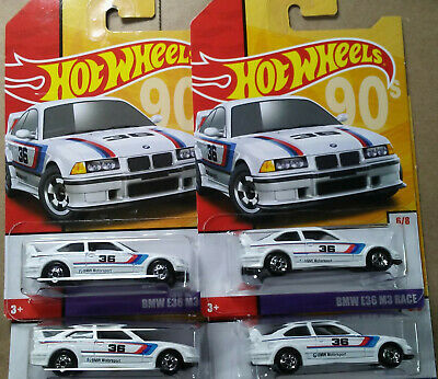 2019 Hot Wheels Throwback Series Target Exclusive #6 BMW E36 M3 Race NEW