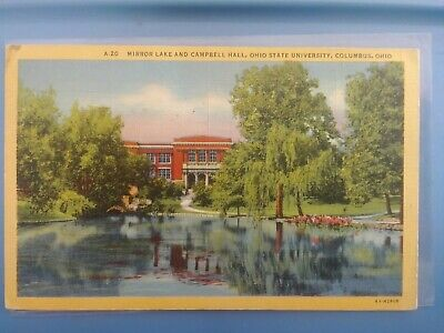 OHIO OH SERPENT Mound State Memorial Postcard Old Vintage