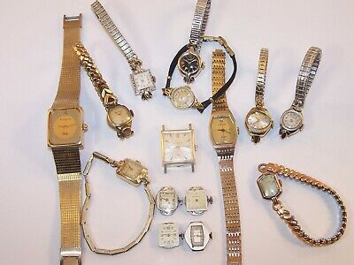 Wittnauer Watch Value >> Vintage Longines Wittnauer Watch Lot Gold Filled Art Deco 11
