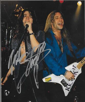 Mark Slaughter Signed 8x10 Photo Proof Ad1 Coa Gfa Slaughter Band Singer