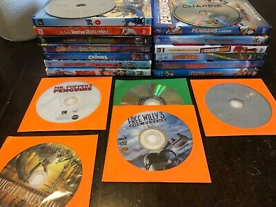 20 Kids Family Movies DVD Lot Disney Pixar Dreamworks Great Assortment!