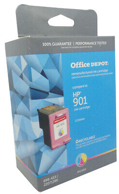 Refurbished Color Ink Cartridge for HP 901 CC656AN