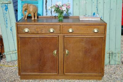Vintage 1940's Art Deco Oak Sideboard ExShop Counter By CC41 Gordon Russell Chic