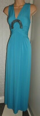 Star By Julienmacdonald Pretty Ladies Cocktail Summer Long Stretch Dress Size 16