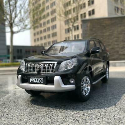 Car Model Toyota Land Cruiser Prado Without Decal 1:18 (Black) + SMALL GIFT!!!!!