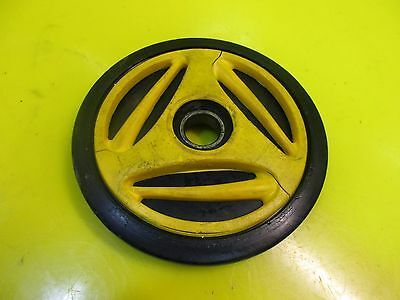 1994 94 Skidoo Ski Doo Formula Mach Z Axle Wheel Bogie 180Mm 180 Mm Yellow
