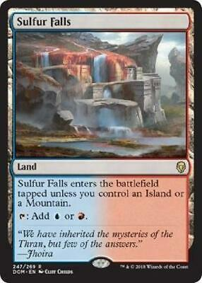 Sulfur Falls 247/269 Near Mint DOM MTG Dominaria