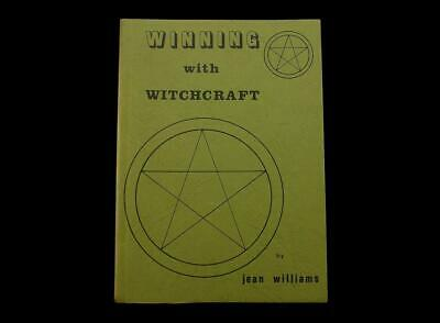 WINNING WITH WITCHCRAFT  by JEAN WILLIAMS  WICCA WICCAN OCCULT RITUALS 1982