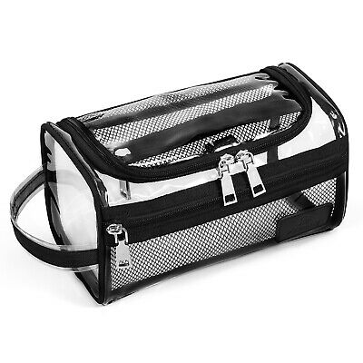Bag Transparent Cosmetic Makeup Organizer Travel Pouch PVC Toiletry Clear Case