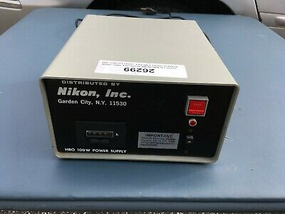 Nikon 78591 Power Supply for Nikon MICROSCOPE HBO 100W