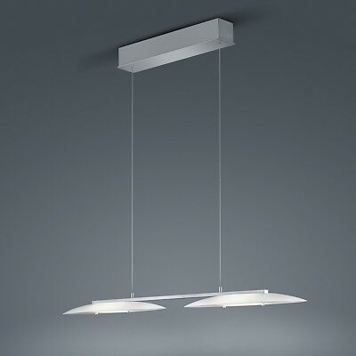 Helestra Sally Suspension à LED Nickel Mat - Chrome