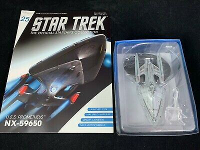 Eaglemoss Star Trek Collection- Starship/Magazine #25 - Uss Prometheus  Nx-59650