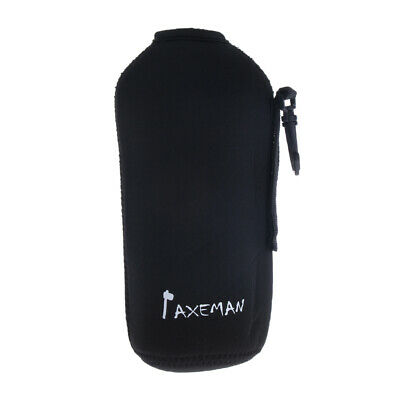 Insulated Neoprene Camping Hiking Water Bottle Holder Carrier Pouch, 600ml