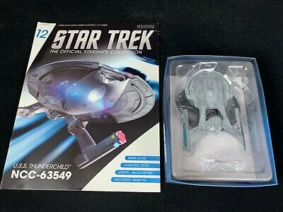 Eaglemoss Star Trek Collection- Starship/Magazine #12-Uss Thunderchild Ncc-63549