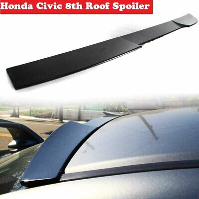 Unpainted For 2006-2011 HONDA CIVIC SEDAN 4D-Rear Window Roof Spoiler