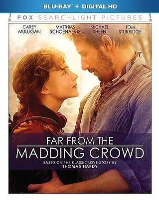 Far From the Madding Crowd [Blu-ray],New DVD, Lough, Dorian, Wingett, Mark, Scho
