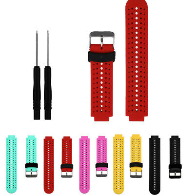 Soft Silicone Strap Replacement Watch Band For Garmin Forerunner 735XT Watch