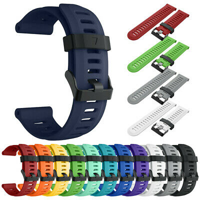 Soft Silicone Strap Replacement Watch Band For Garmin Fenix 5X Plus Watch
