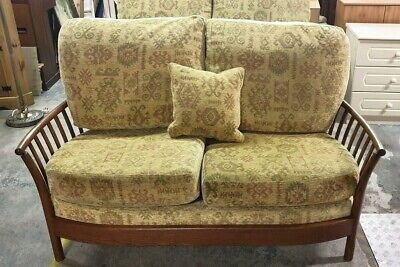 ERCOL Renaissance Golden Dawn 2 Seater Sofa With Seat & Back Cushions - C82