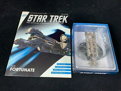 Eaglemoss Star Trek Collection- Starship & Magazine #49 - Ecs Fortunate