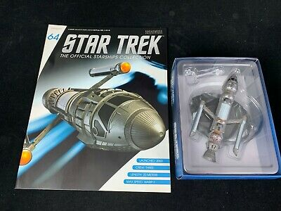 Eaglemoss Star Trek Collection- Starship & Magazine #64 - Phoenix