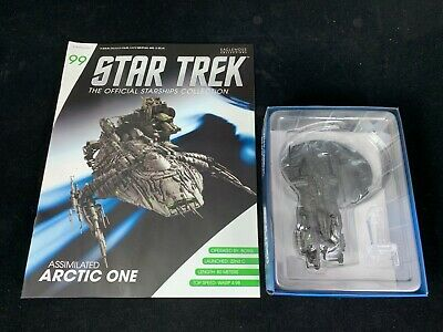 Eaglemoss Star Trek Collection- Starship & Magazine #99 - Assimilated Arctic One